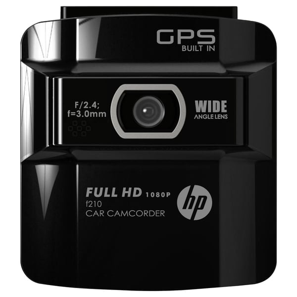 "HP f210 Digital Camcorder - 2.6"" LCD - CMOS - Full HD - Black"