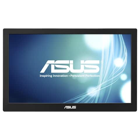 "Asus MB168B 15.6"" HD LED LCD Monitor - 16:9 - Black, Silver"