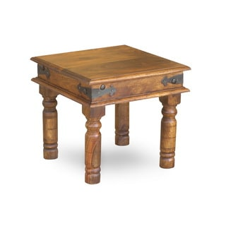 Handcrafted Thakat Rustic Side Table (India)