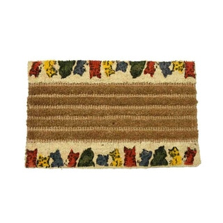 "Rubber-Cal 'Kitty Cat' Coco Doormats (18""x30"")"