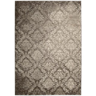 kathy ireland by Nourison Santa Barbara Beige/Brown Rug (9'3 x 12'9)