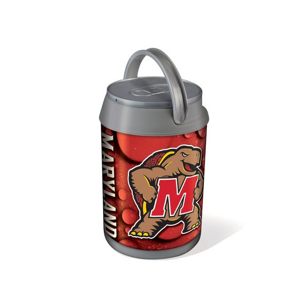 Picnic Time University of Maryland Terrapins/Terps Mini Can Cooler - gray