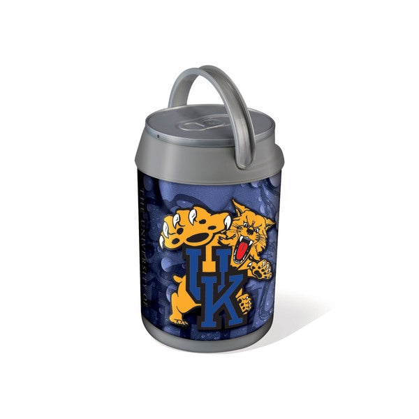 Picnic Time Silver University of Kentucky Wildcats Mini Can Cooler - gray