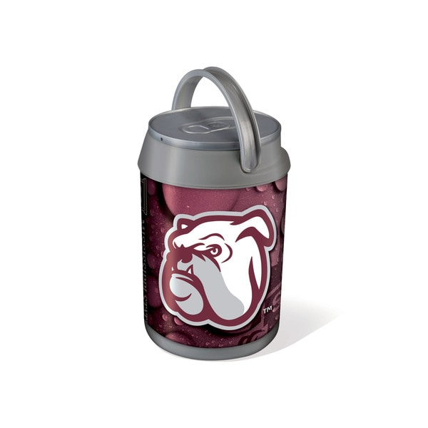 Picnic Time Mississippi State Bulldogs Mini Can Cooler - gray