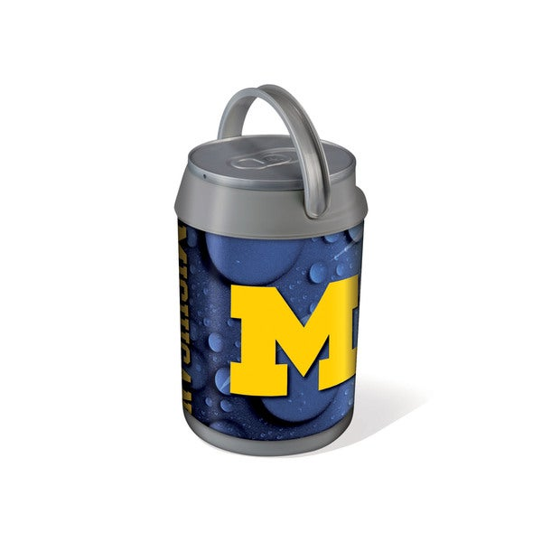 Picnic Time University of Michigan Wolverines Mini Can Cooler - gray