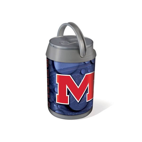 Picnic Time University of Mississippi Rebels/OleMiss Mini Can Cooler