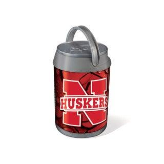 Picnic Time Silver University of Nebraska Cornhuskers Mini Can Cooler