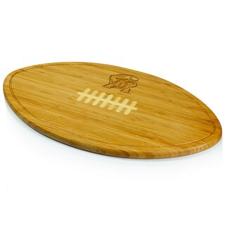Picnic Time Kickoff University of Maryland Terrapins/Terps Engraved Natural Wood X- Large Cutting Bo