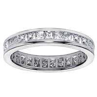 14k/ 18k Gold 1.6-1.8ct TDW Diamond Eternity Wedding Band