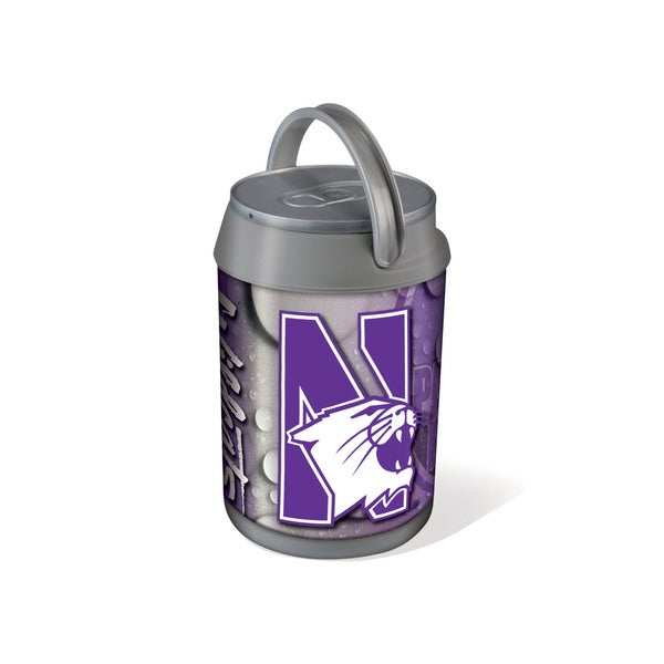 Northwestern University Wildcats Mini Can Cooler - gray