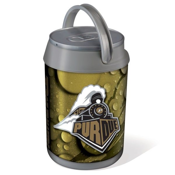 Picnic Time Purdue University Boilermakers Mini Can Cooler - gray