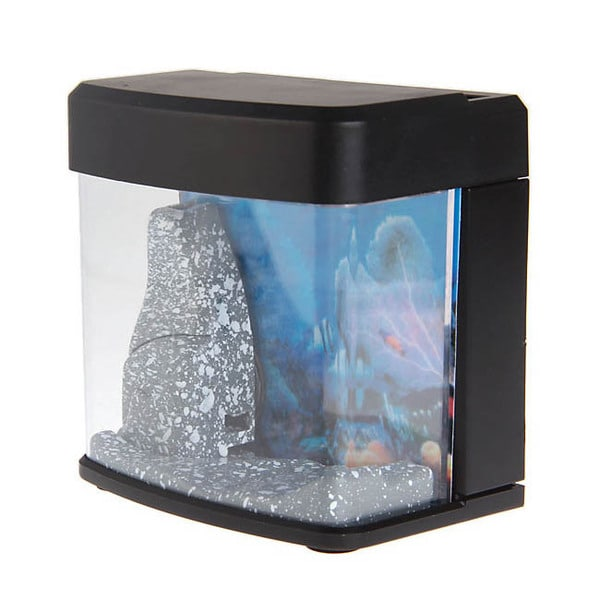 USB-powered LED Light Mini Aquarium