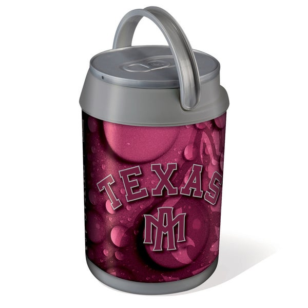 Picnic Time Texas A&M Aggies Mini Can Cooler - gray