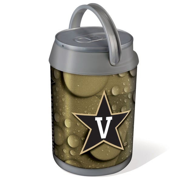 Picnic Time Vanderbilt University Commodores Mini Can Cooler - gray