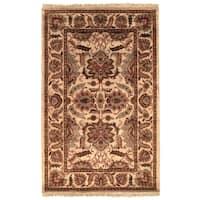 Safavieh Handmade Classic Camel/ Camel Wool Rug - 9'6 x 13'6