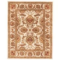 "Safavieh Handmade Classic Camel/ Camel Wool Rug - 9'-6"" x 13'-6"""
