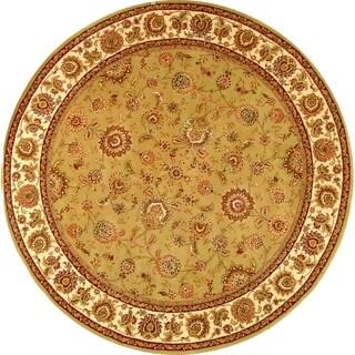 Safavieh Handmade Persian Court Multicolored Wool/ Silk Rug (6' Round)