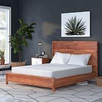 Select Luxury Flippable Medium Firm 8-inch Full-size Foam Mattress - WHITE