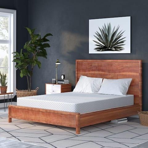 Select Luxury Reversible Comfort 8-inch Medium Firm Foam Mattress - White