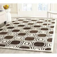 Safavieh Handmade Precious Charcoal Polyester/ Wool Rug - 8' x 10'