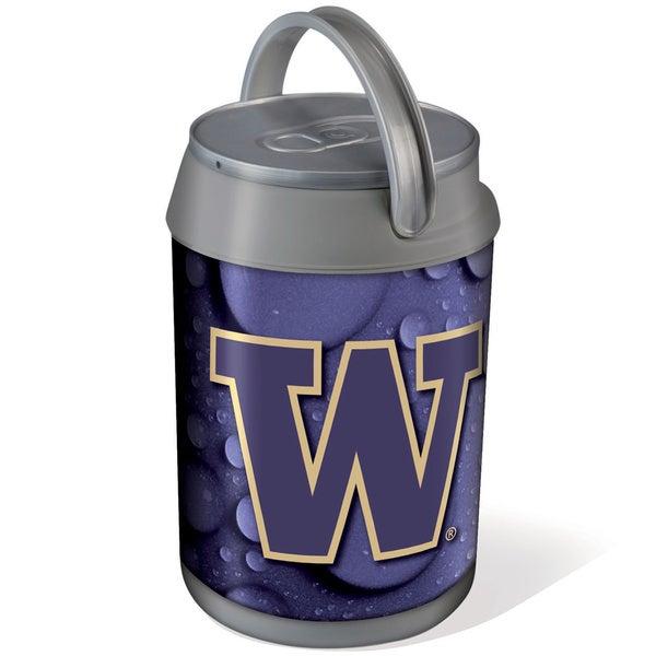 Picnic Time Silver University of Washington Huskies Mini Can Cooler