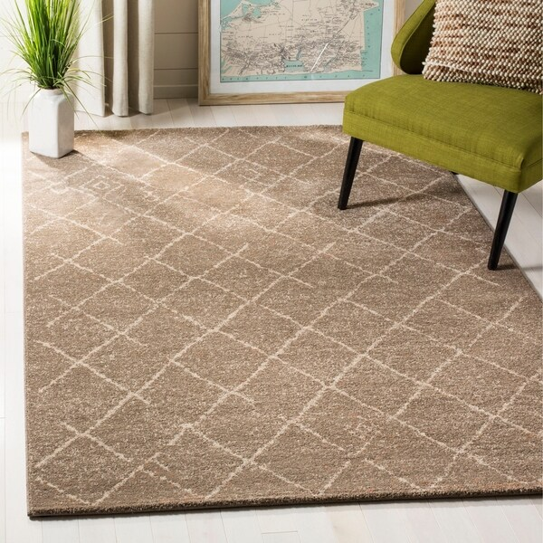 Safavieh Tunisia Brown Rug - 8' x 10'