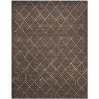 Safavieh Tunisia Dark Brown Rug - 8' x 10'