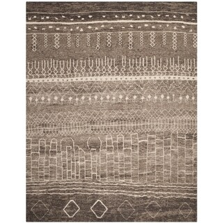 Safavieh Tunisia Brown Rug (8' x 10')