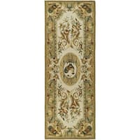 Safavieh Hand-hooked Chelsea Taupe Wool Rug - 2'6 x 6'