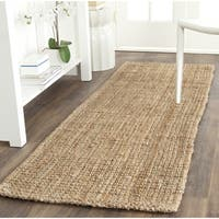 "Safavieh Casual Natural Fiber Hand-Woven Natural Jute Rug - 2'3"" x 7'"