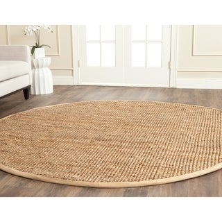 Safavieh Casual Natural Fiber Hand-Woven Natural Jute Rug (7' Round)