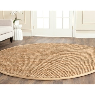 Safavieh Casual Natural Fiber Hand-Woven Natural Jute Rug (9' Round)