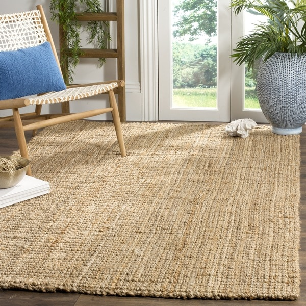 Safavieh Handmade Beacon Natural Fiber Jute Rug - 5' x 5' Square