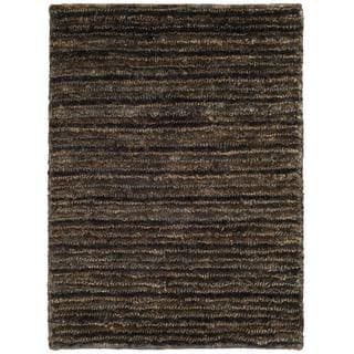Safavieh Hand-knotted Organica Charcoal/ Charcoal Jute Rug (2' x 3')
