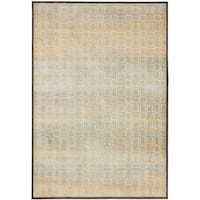 Safavieh Paradise Modern Cream/ Brown Viscose Rug - 5'3 x 7'6