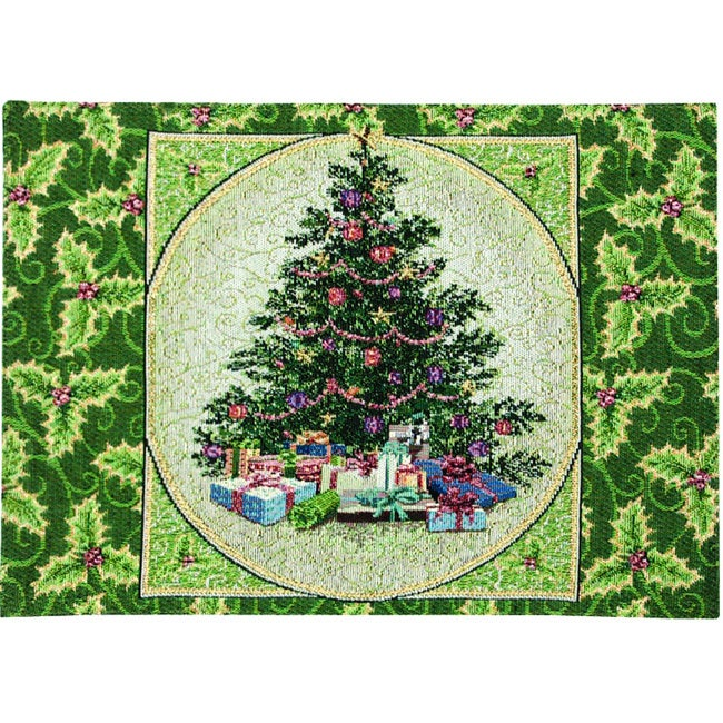 Holly Tree Placemats (Set of 4) (Holly Tree SET OF 4 Plac...