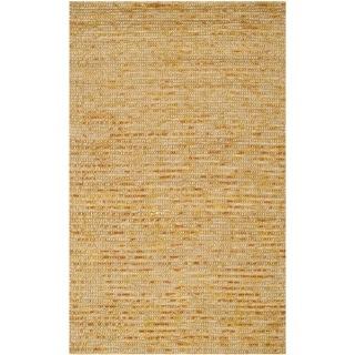 Safavieh Hand-woven Bohemian Gold Jute Rug (3' x 5')