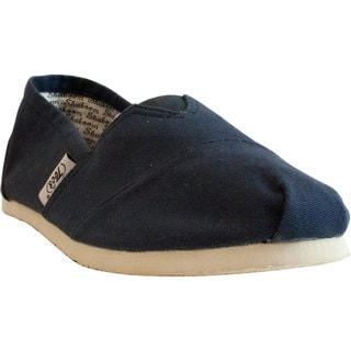 Women's Casual Navy Canvas Shoes