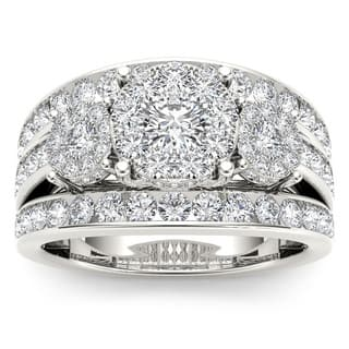 De Couer 10k Gold 2ct TDW Diamond Ring https://ak1.ostkcdn.com/images/products/8398618/P15699903.jpg?impolicy=medium