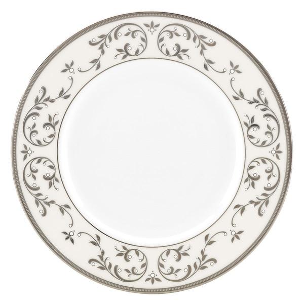 Lenox Opal Innocence Silver Accent Plate