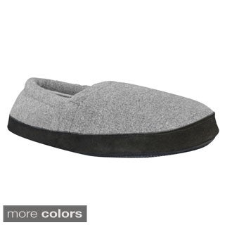 Muk Luks Men's Fleece Espadrille Slippers