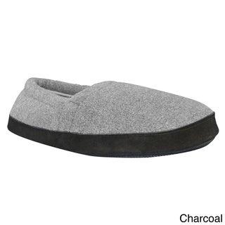Muk Luks Men's Fleece Espadrille Slippers