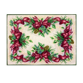 Balsam/ Berries/ Bows Placemat (Set of 4)