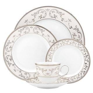 Lenox Opal Innocence Silver 5-piece Dinnerware Place Setting
