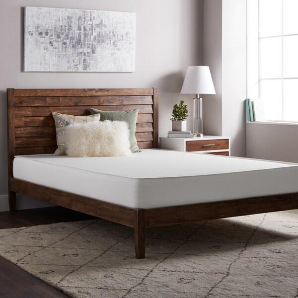 shop select luxury flippable medium firm 8 inch twin size foam mattress on sale free. Black Bedroom Furniture Sets. Home Design Ideas