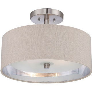 Quoizel 'Metro' Semi-flush 2-light Mount