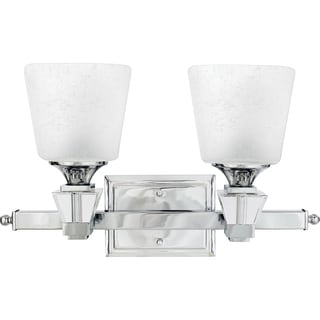Quoizel 'Deluxe' Two-light Bath Fixture