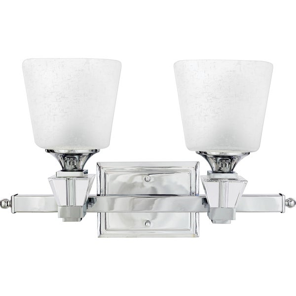 Quoize 'Deluxe' Two-light Bath Fixture