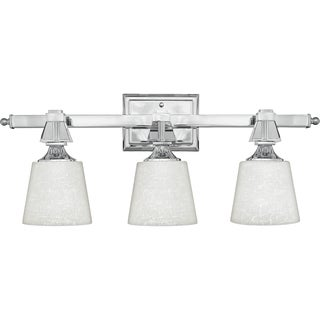 Quoize 'Deluxe' Three-light Bath Fixture
