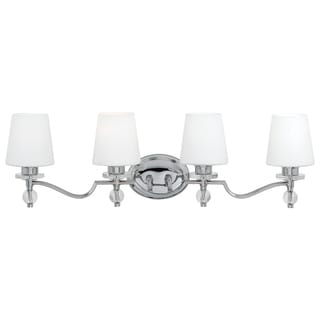 Quoizel 'Hollister' Four-light Bath Fixture